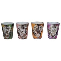 4 Pack Camo Shot Glass