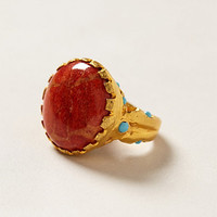 Coral Geologist Ring