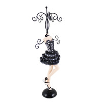 """Pin-Up Cheetah Mannequin (Large) 5""""""""X15""""""""X4.5"""""""" Silver: Silver"""