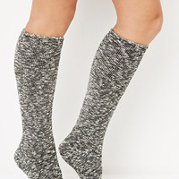 Marled Knee-High Socks