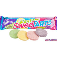 Wonka Giant Chewy SweeTarts 4-Packs: 36-Piece Box   CandyWarehouse.com Online Candy Store