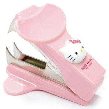 Hello Kitty Staple Remover Pink Kid Cute Baby Girl Gift Stapler Desk Office Teen