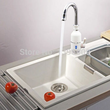 Free shipping water heater Bathroom faucet Kitchen Faucet One second that is out of hot water Armor A-075