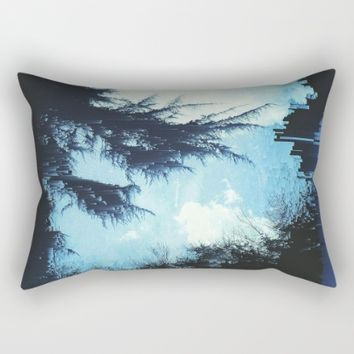 In the Wind Rectangular Pillow by Ducky B