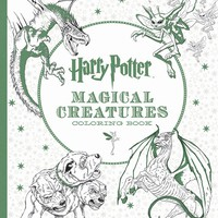 Harry Potter Creatures Coloring Book CLR