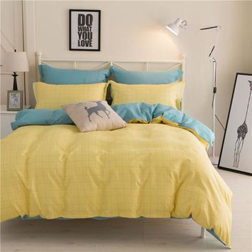 Home Textiles Bedding Sets include Duvet Cover Bed Sheet Pillowcase Queen King Twin Size Comforter Bedding Sets Bed Linen hc