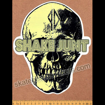 Shake Junt Skateboard Sticker