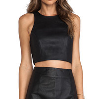 Cameo Soul Fire Top in Black