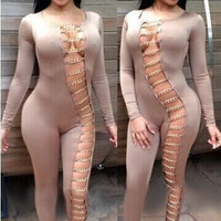 Hollow Sexy Jumpsuit