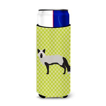 Silver Fox Green Michelob Ultra Hugger for slim cans