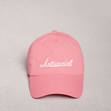 HatBeast Antisocial Graphic Cap