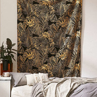 Foil Palms Tapestry - Urban Outfitters