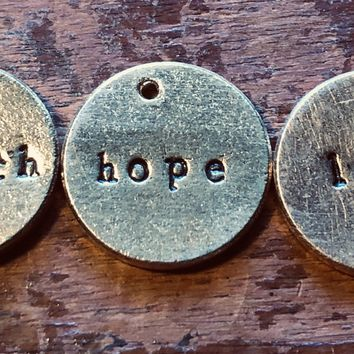 Teeny Tiny Bits of Faith, Hope and Love