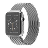 Apple Watch - 42mm Stainless Steel Case with Milanese Loop