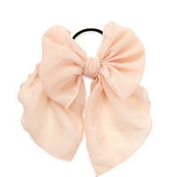 Georgette Bow Hair Elastic