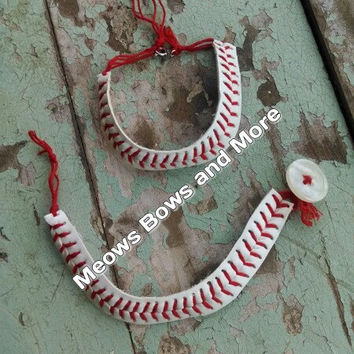 baseball bracelet from real baseball