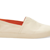 TOMS Natural Canvas Men's Avalon Sneakers Natural