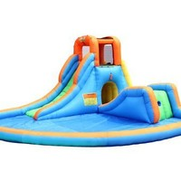 Bounceland Inflatable Cascade Water Slide with Pool