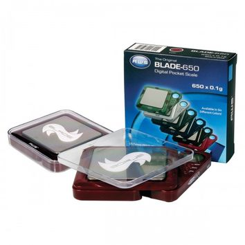 American Weigh Scale Digital – Blade 650 – 650g Capacity X 0.1g – USA's Largest Smoke Shop | Smoking Accessories