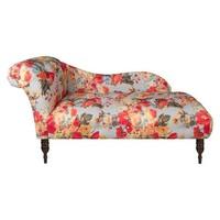 Skyline Custom Upholstered Tufted Chaise