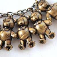 Little bears kawaii necklace original choker cute