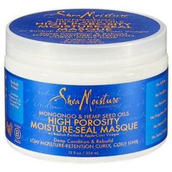 SheaMoisture® Mongongo & Hemp Seed Oils High Porosity Moisture-Seal Masque 12 fl oz