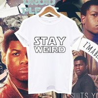 STAY WEIRD star wars unisex man women tshirt fangirl fanboy from DOES IT EVEN MATTER