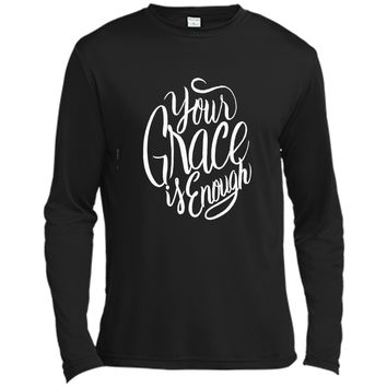 Your Grace is Enough - Christian Faith Jesus Saying T Shirt shirt