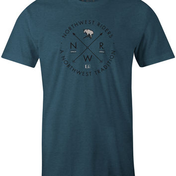 Billy T-Shirt Indigo Heather (2XL)
