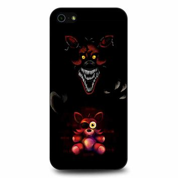 Five Nights At Freddy Fnaf 4 Nightmare Foxy iPhone 5/5s/SE Case