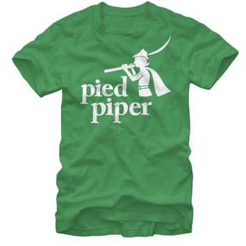 Silicon Valley Original Kelly Green Pied Piper T-Shirt