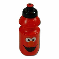 Elmo red 15 oz. Pull Top Water Bottle-Tickle Me Elmo 15oz. Bottle-Brand New!