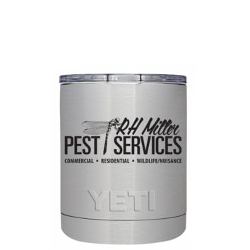 YETI RH Miller on 10oz Lowball Tumbler
