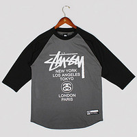 World Tour Baseball Tee : REED SPACE ONLINE SHOP