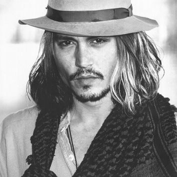 Johnny Depp 11x17 Movie Poster (2003)
