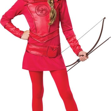Warrior Huntress Red Tween (10