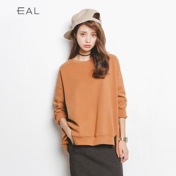 Autumn Long Sleeve Cotton T-shirts Stylish Bottoming Shirt [9022914439]