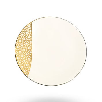 Gold Arabesque Dessert Plate