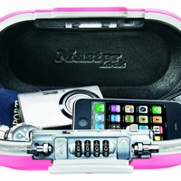 Master Lock 5900DPNK Portable Personal Safe, Pink:Amazon:Home Improvement