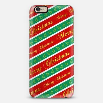 Christmas Wrapping Paper iPhone 6 case by Nicklas Gustafsson   Casetify