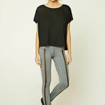 Active Contrast-Paneled Top
