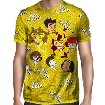Big Mouth Collage T-Shirt
