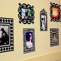 Re-Stickable Wall Decal Photo Frames at The Photojojo Store