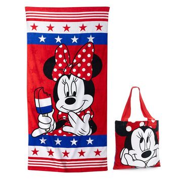 Disney's Minnie Mouse 2-pc. Beach Towel & Tote Set by Jumping Beans