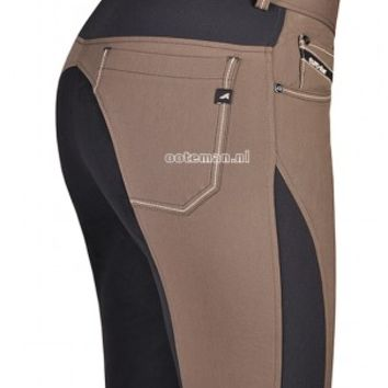 Eurostar Riding Breeches Laureta Full Taupe | Ooteman Equestrian
