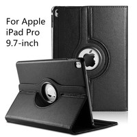 360 Degree Rotating PU Leather Smart Cover Case for Apple iPad Pro 9.7 inch 2016 Released(With Smart Cover Auto Wake / Sleep)