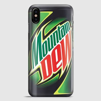 Funny Mountain Dew iPhone X Case | casescraft