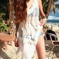 2016 New Hollow Out Limited Handmade Vest Tank Top Beach Holiday Dress for Womens Summer Gift-49