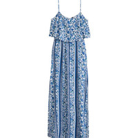 Patterned maxi dress - from H&M