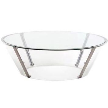 Large Oval Cona Cocktail Table by Spectrum